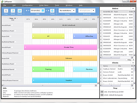 ZePlanner Screen shot